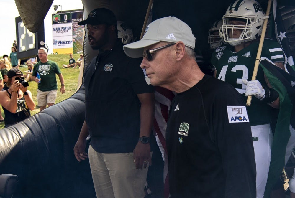 Football: Frank Solich updates on fall camp, quarterbacks and why he came back