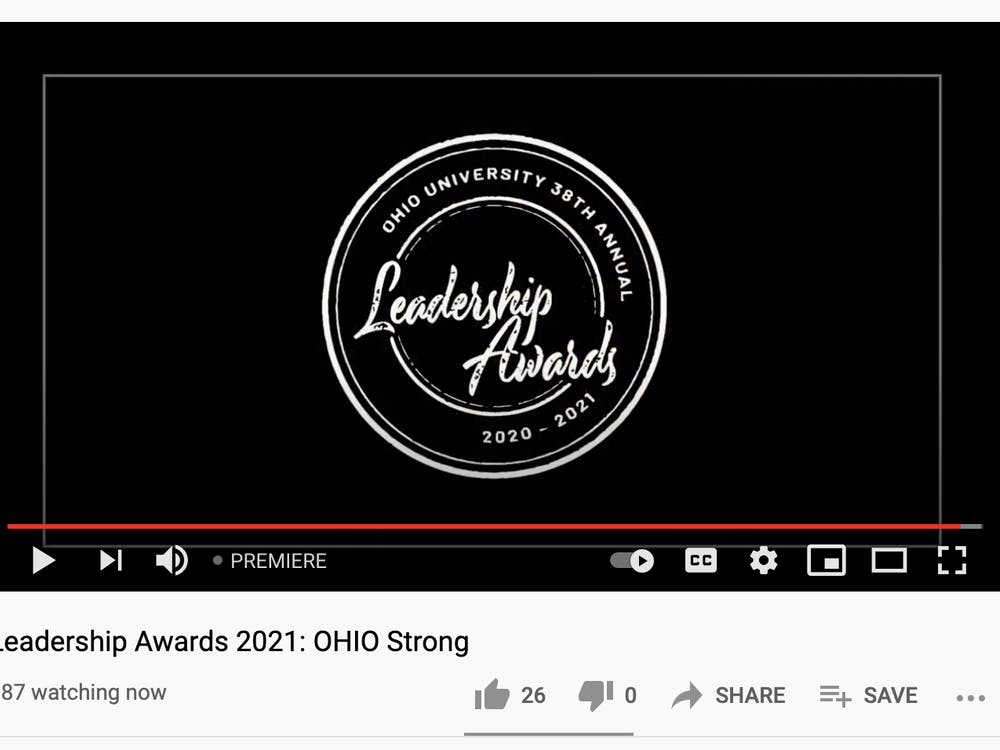 The 38th Annual Leadership Awards were streamed through YouTube Live.