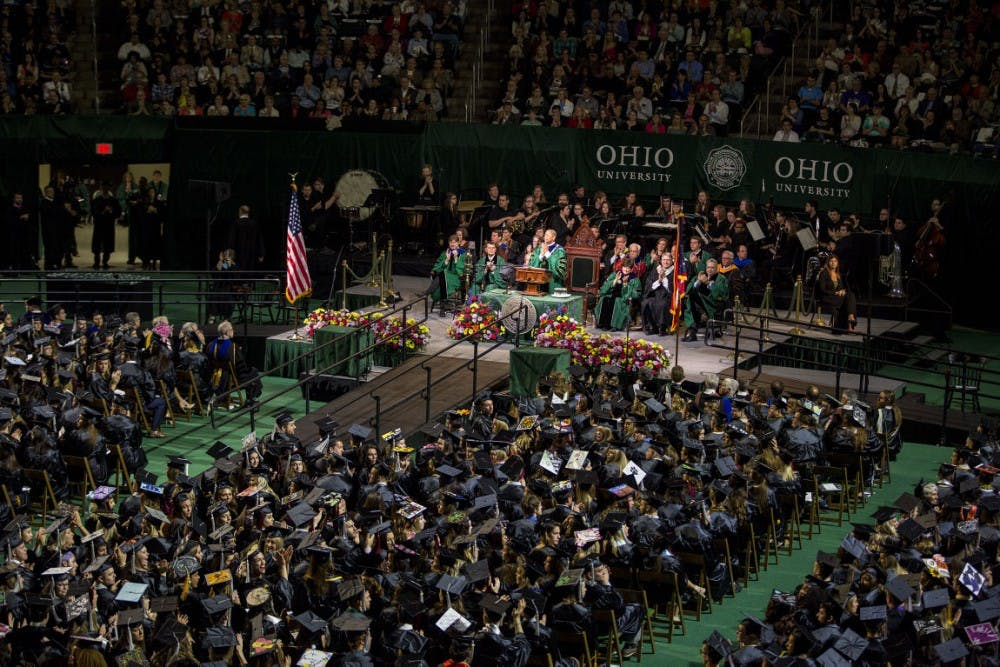 Graduating from Ohio University comes with additional fees - The Post