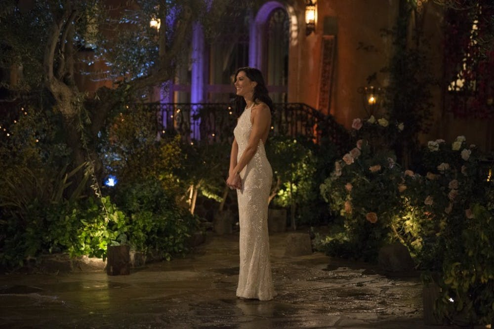 TV Review: Here's who Becca gave the first impression rose to on 'The Bachelorette'