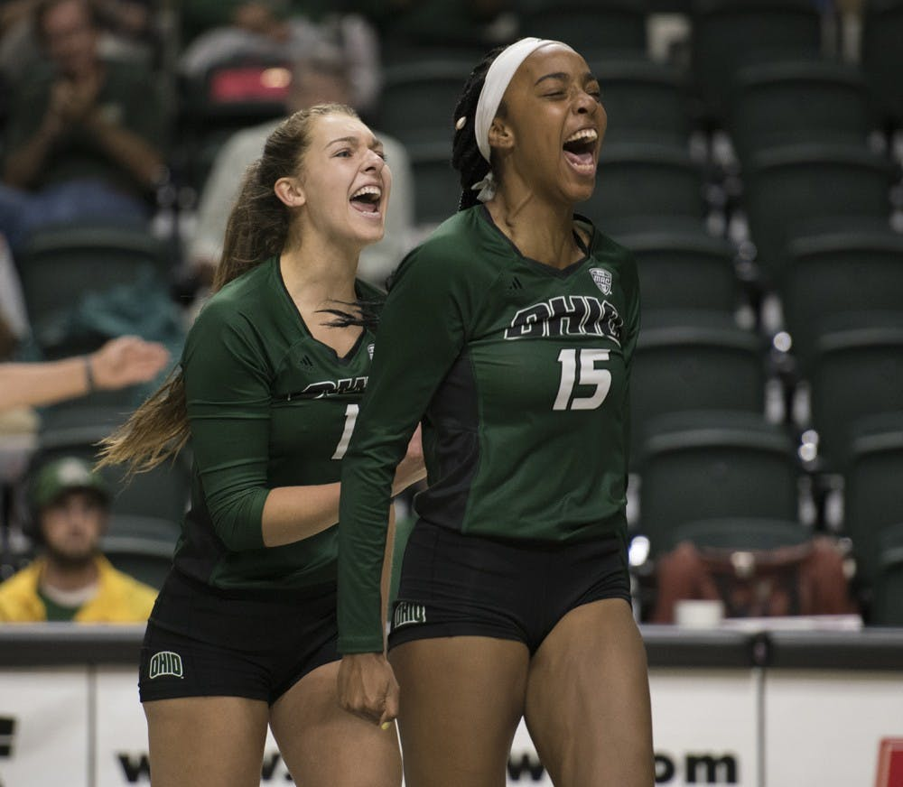 Volleyball: Tia Jimerson wins second straight MAC East Offensive Player of the Week