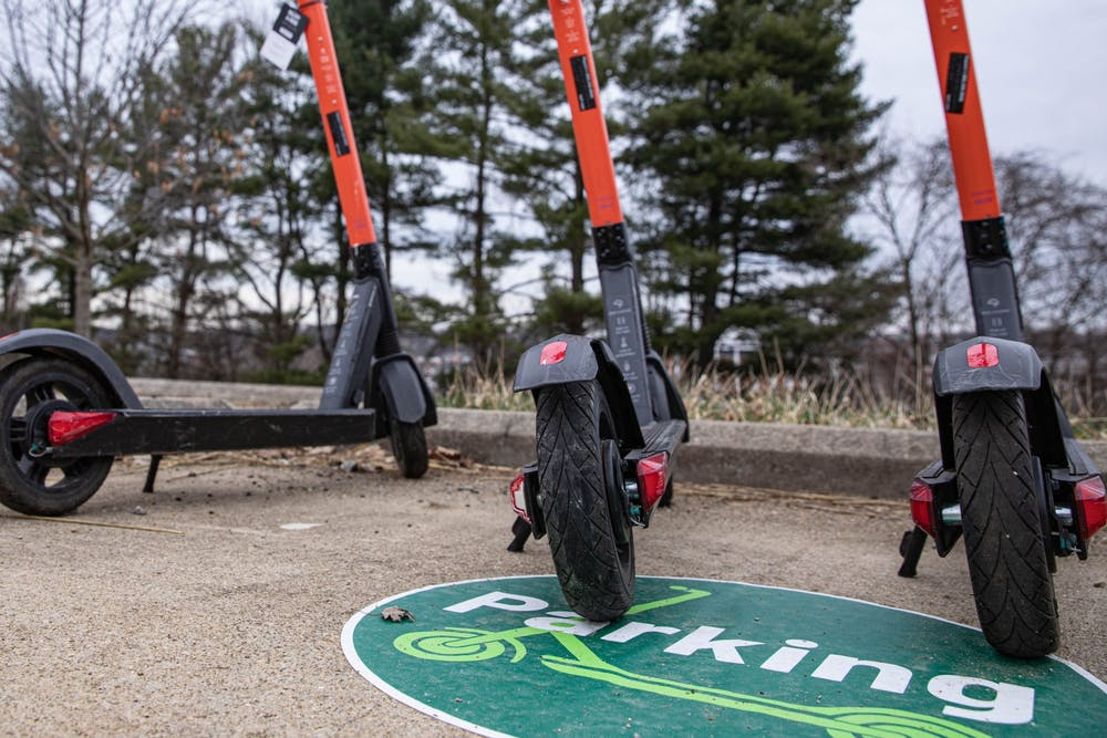 Spin e-scooters return to OU campus for the spring