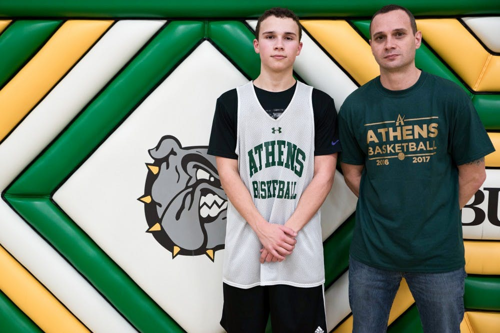 Athens Basketball: Mickey and Dalton Cozart's relationship transcends basketball