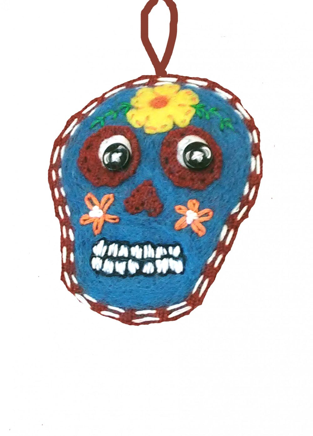 Felted sugar skulls workshop to celebrate Day of the Dead