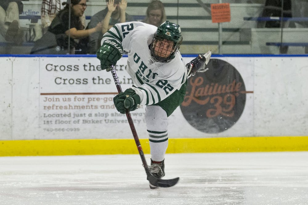 Hockey: Weekend sweep by Michigan-Dearborn is a 'learning experience' for Ohio