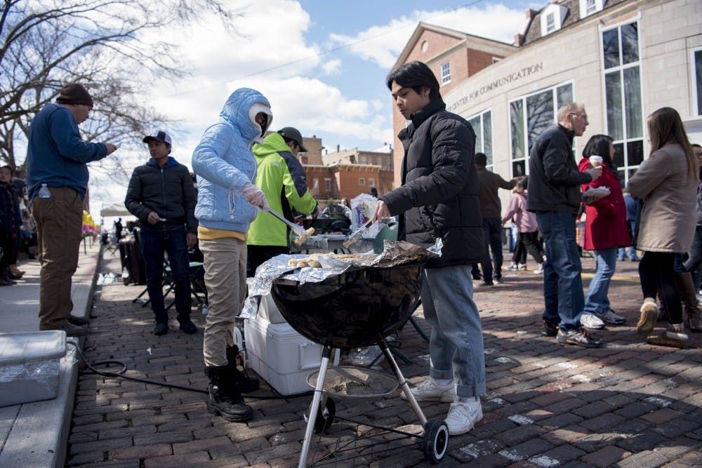 Annual International Street Fair brought warmth to OU
