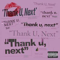 "Ariana Grande released a new song, ""thank u, next,"" about her exes. (via @ArianaGrande on Twitter)"