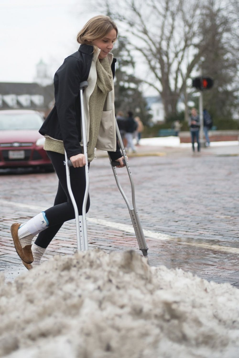 Ohio University offers some transportation and housing options to help injured students carve an accessible pathway