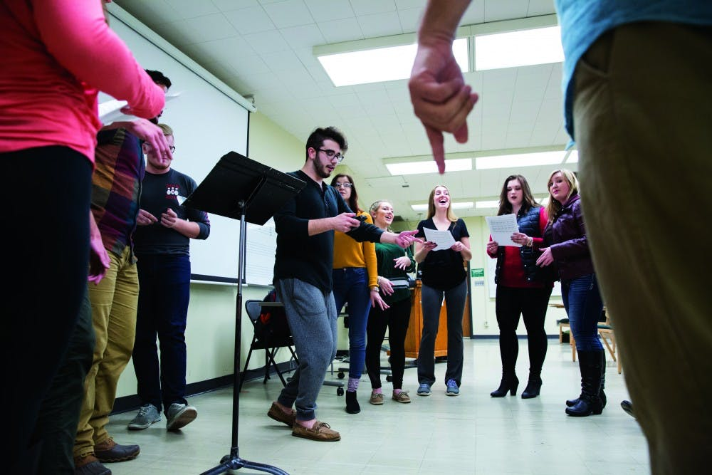 Four different a cappella groups will hold concerts this Sibs Weekend