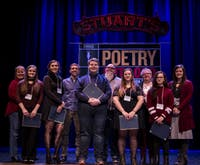 Southeast Ohio Poetry Out Loud high school champions of 2019 shot by Scotty Hall. (Provided via Emily Prince)