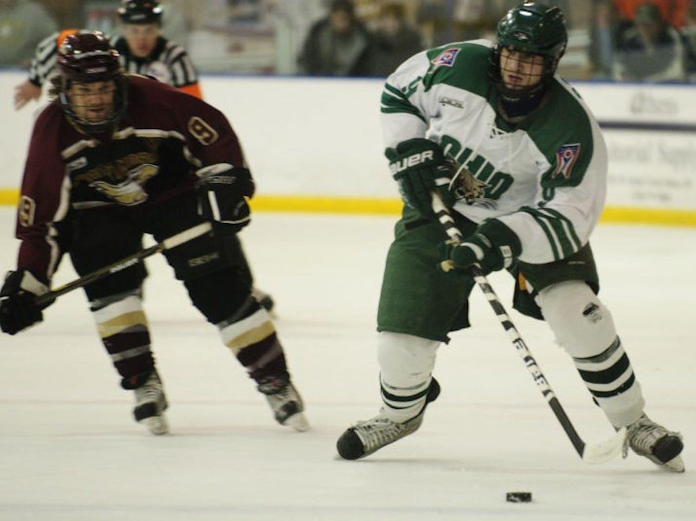 Hockey: Skilled sophomore skates under opponents' radars