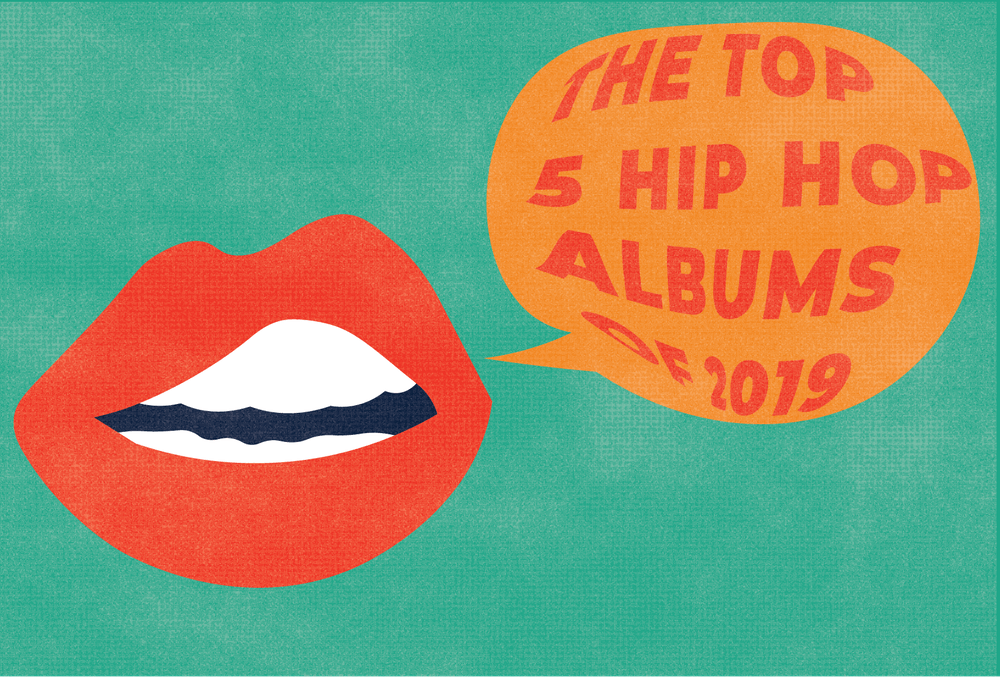 The top 5 hip-hop albums of 2019