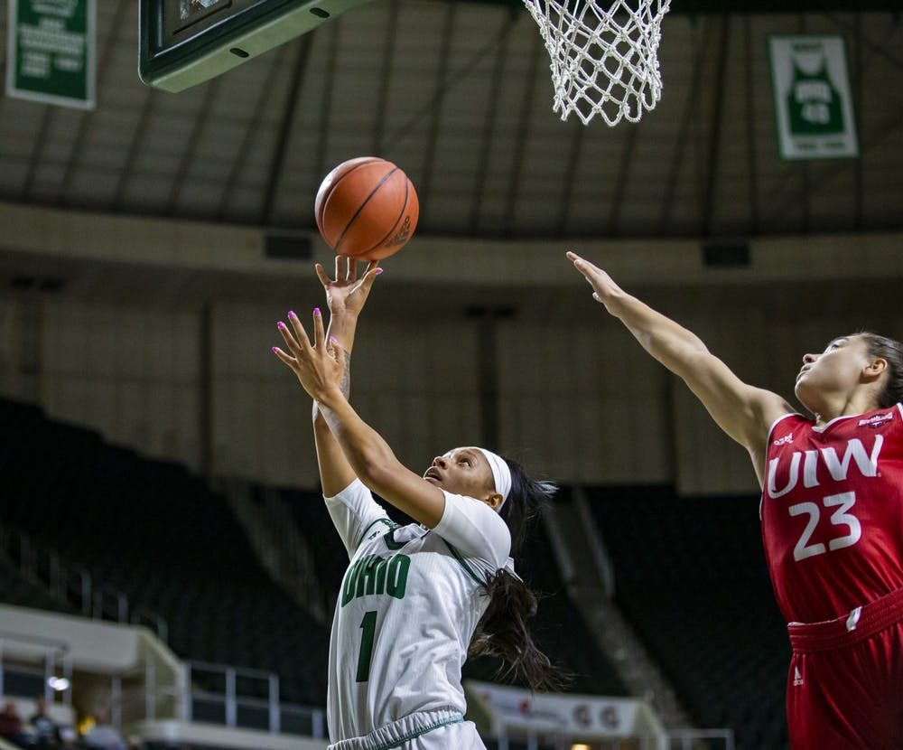 Women's Basketball: Stifling defense leads Bobcats to 78-41 win over Incarnate Word