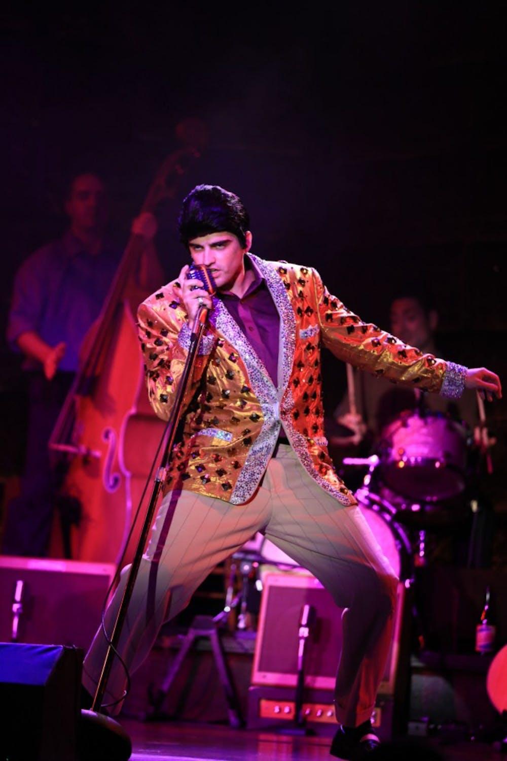 Four rock 'n' roll legends come together in 'Million Dollar Quartet'