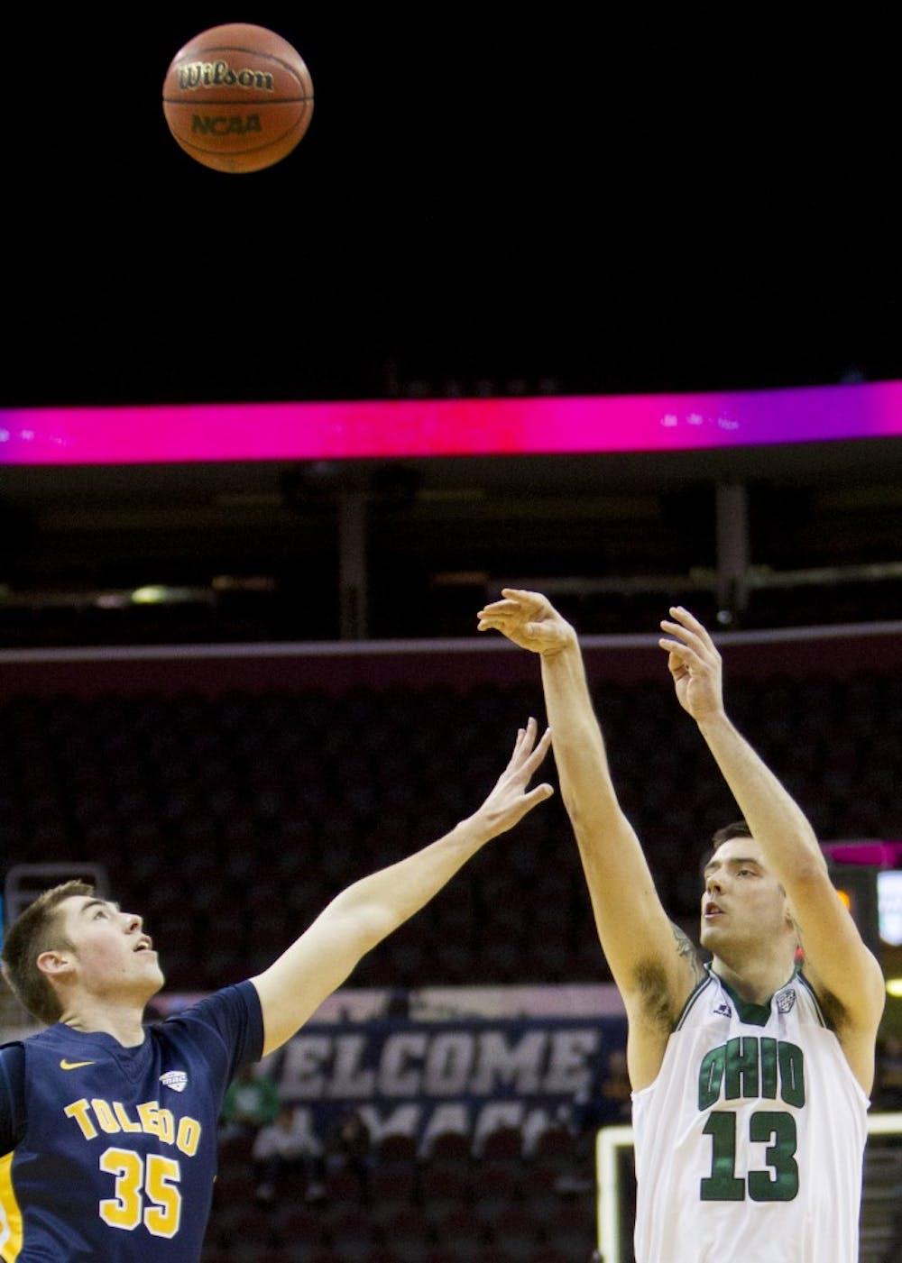 Men's Basketball: Kaminski hits last-second jumper to advance Ohio