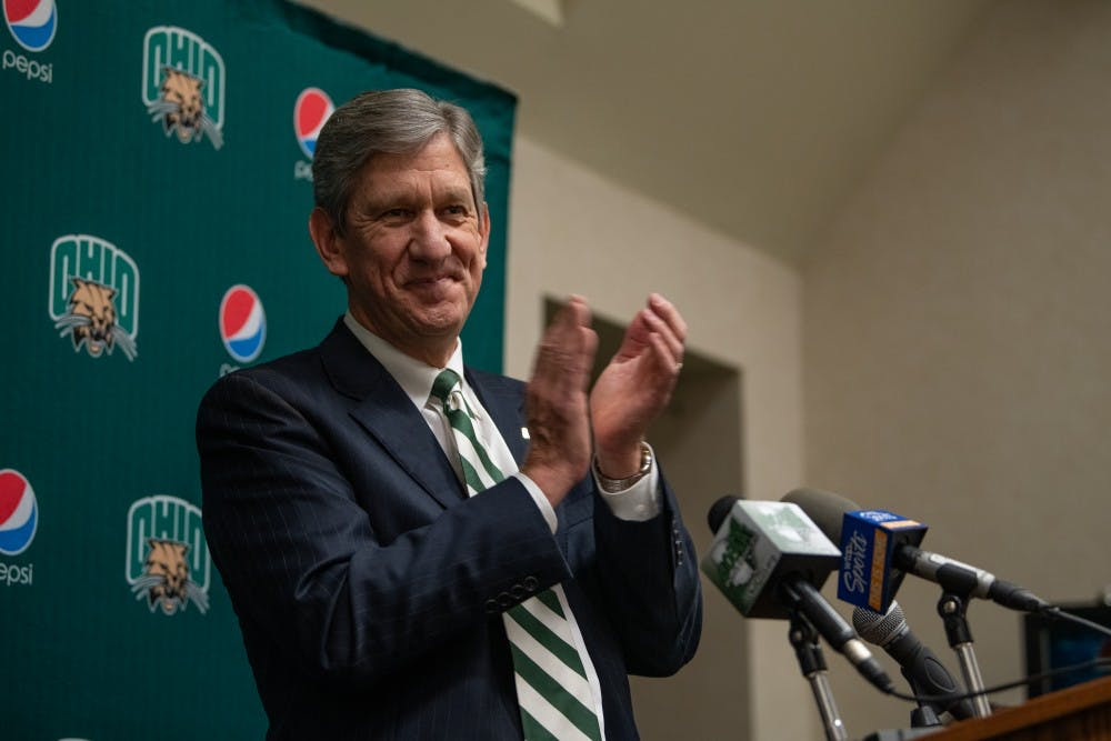Athletic director Jim Schaus to leave Ohio