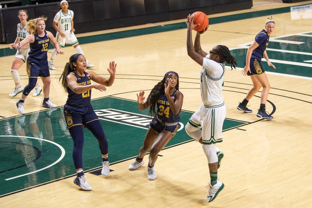 Women's Basketball: Ohio loses another close game to Central Michigan