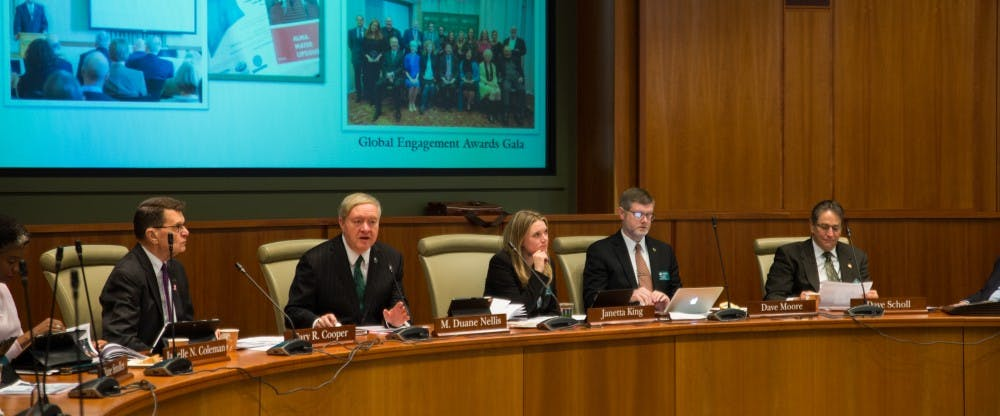 Board of Trustees discuss medical marijuana, new academic programs