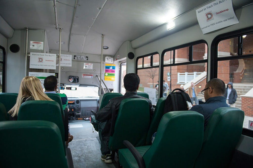 Boyd food shuttle to bus hungry Bobcats stranded on West Green