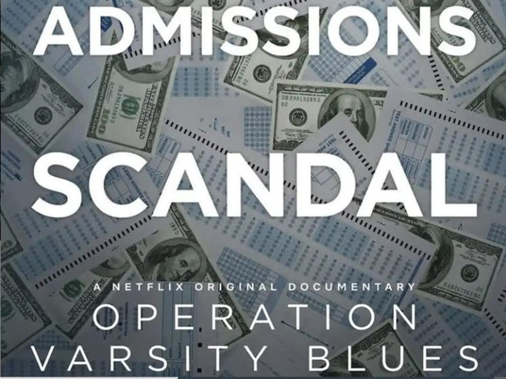 Netflix released 'Operation Varsity Blues: The College Admissions Scandal' was released on March 17, 2020. (Photo provided via @operationvarsitybluesnetflix on Instagram)