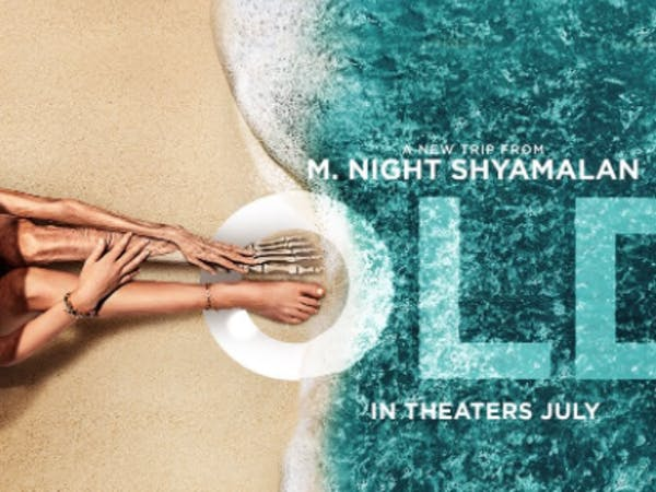M. Night Shyamalan's Old was released in theaters on July 23, 2020. (Photo provided via @KillerCritics via Twitter).