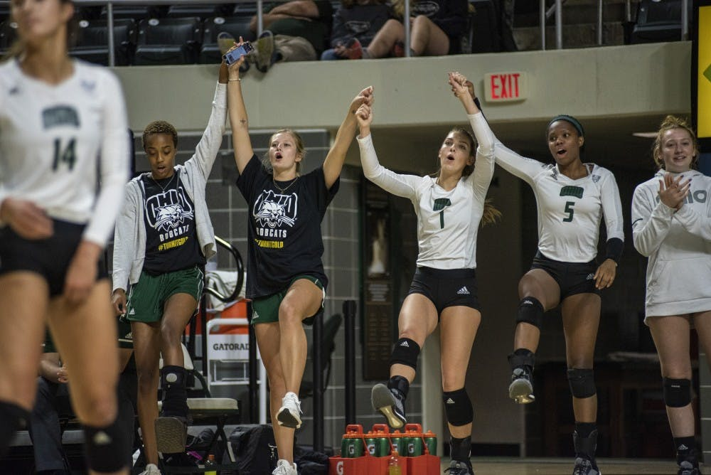Volleyball: Webb relishes departing players' contributions after season-ending loss to Ball State