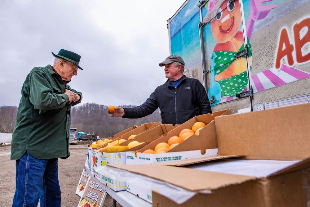 Fresh Florida citrus provides a pop of color and Vitamin C to help Ohio residents