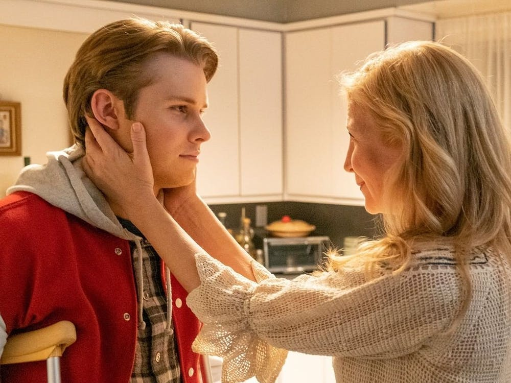 Kevin falls into bed with a mysterious blonde woman during Tuesday's episode of 'This Is Us.' (Photo provided via @nbcthisisus on Instagram)