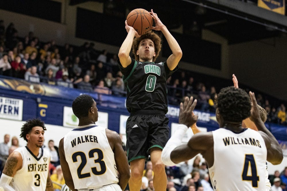 Men's Basketball: Ohio's loss to Kent State shows a tale of two backcourts