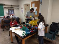 Students learn hands-on in the Athens Makers program. (PROVIDED via Mark Lucas)
