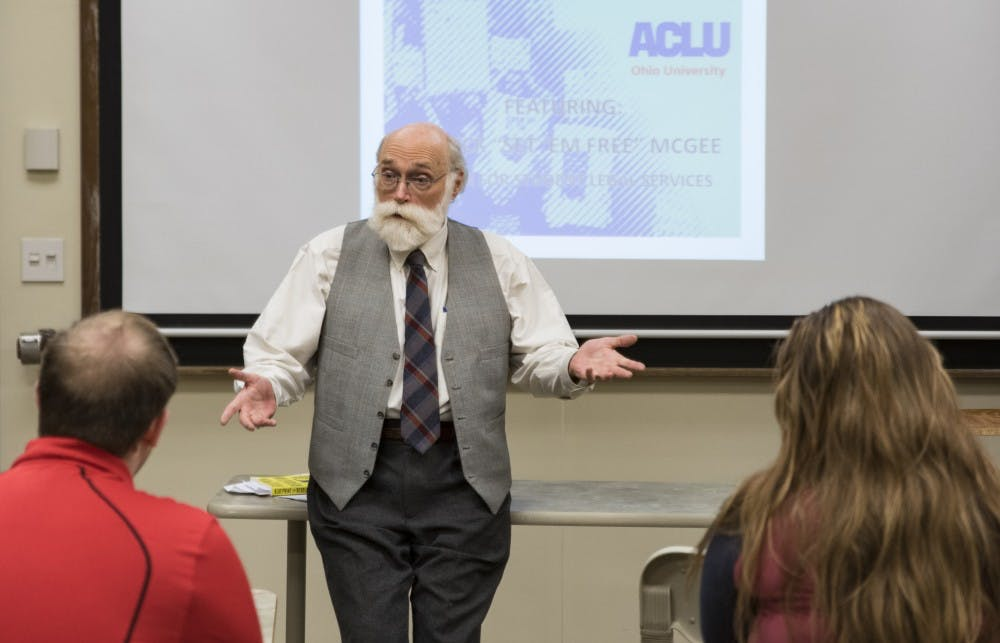 OU ACLU holds 'You Have the Right to Protest' forum