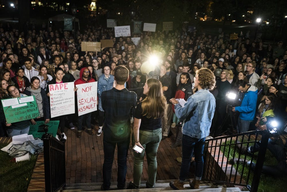 'It's on Us, Bobcats' rally calls on campus to address sexual assault