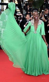 Lupita Nyong'o will bless the 2019 Oscars red carpet. (via Pinterest)