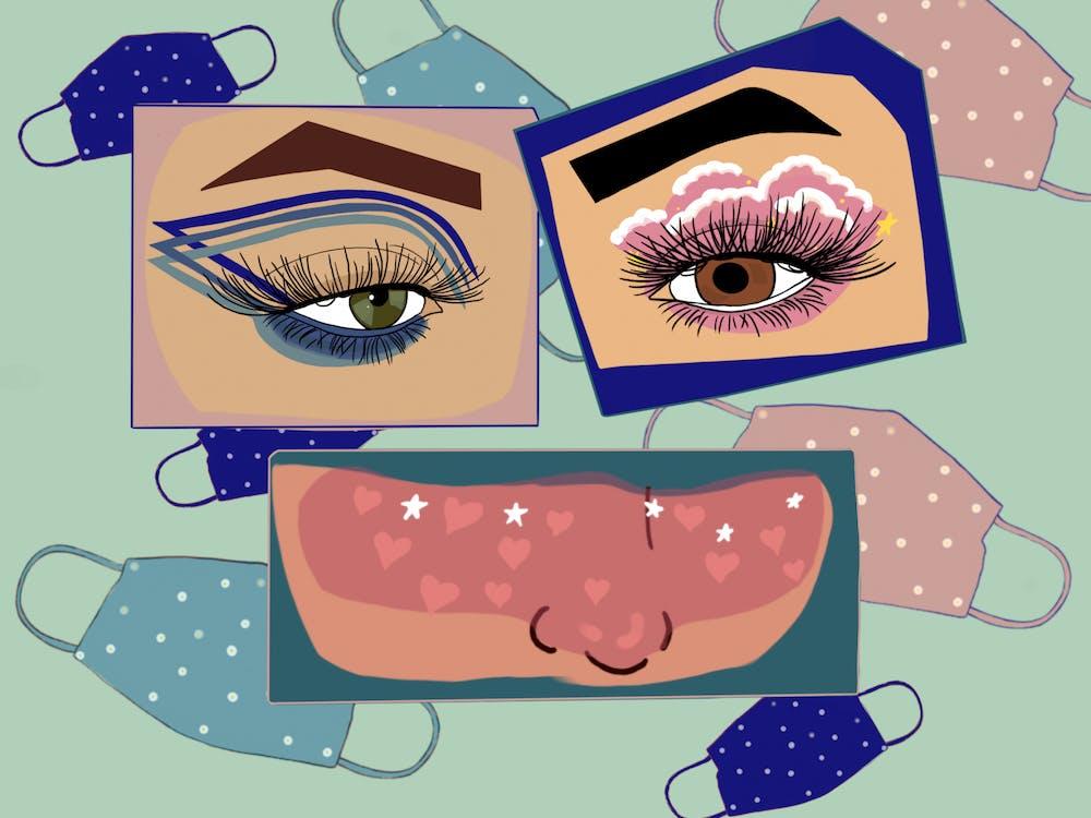 Student makeup artists adapt to pandemic