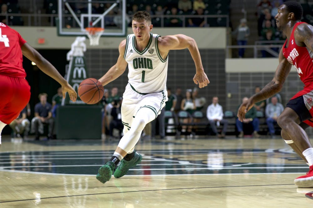 Men's Basketball: Important numbers from Ohio's 70-52 win at Ball State