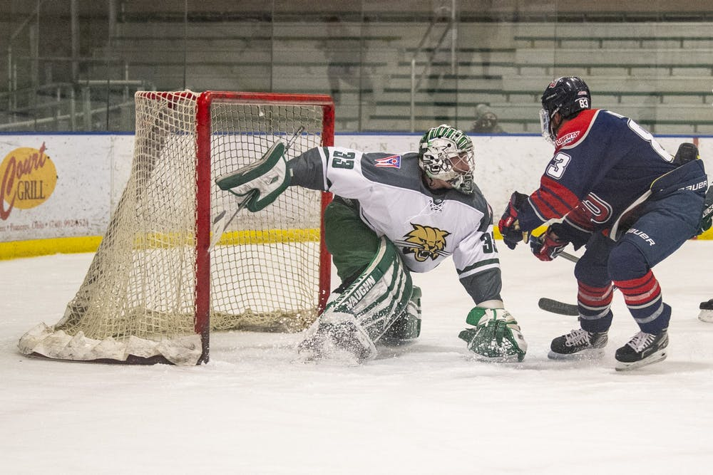 Hockey: Bobcats collapse in quarterfinal matchup to rival Liberty