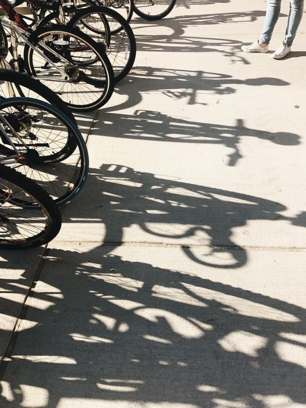 Students could soon borrow bikes on campus