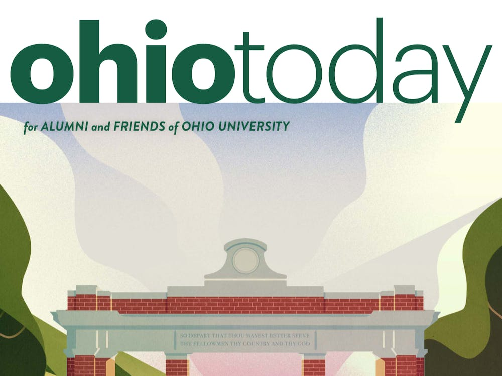 Photo provided via Ohio Today's Issuu page. (Art by Andrew Lyons)