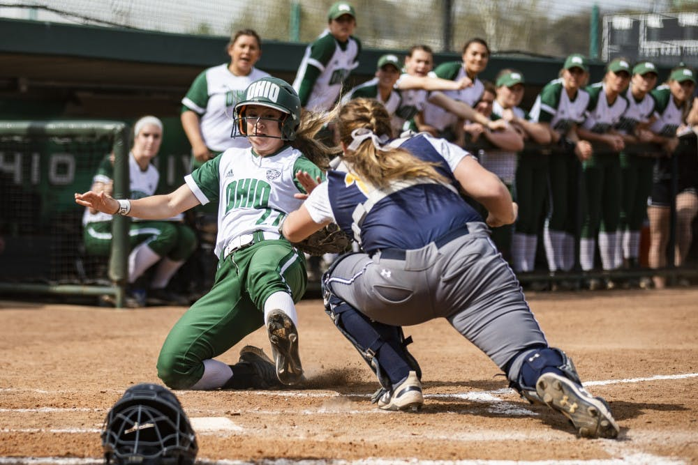Softball: Ohio drops fourth game in a row, loses to Kent State