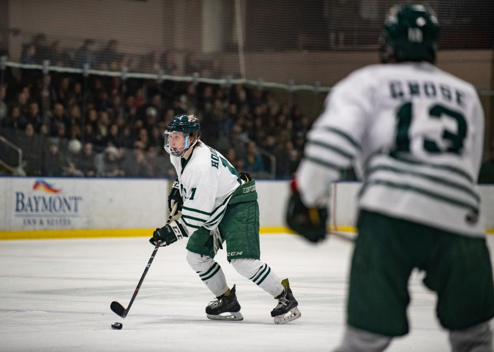 Hockey: Jake Houston, Ohio's offensive defenseman
