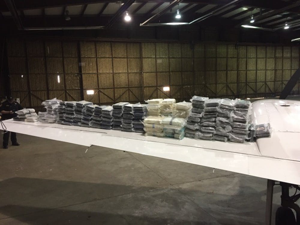 Nearly 300 pounds of cocaine seized from plane that landed Wednesday at OU airport