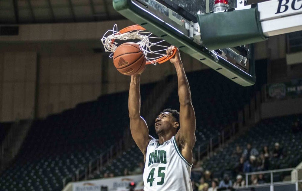 Men's Basketball: Doug Taylor leads Ohio to 73-49 victory at Akron