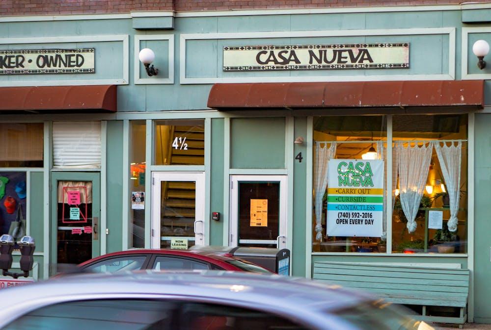 Casa Nueva resumes dine-in services