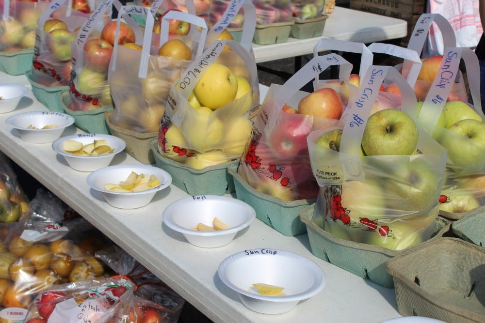 Local apple farmers take pride in their produce