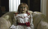 'Annabelle Comes Home' does have some genuine scares, but it's really just another teen horror film. (Photo via @RottenTomatoes on Twitter)