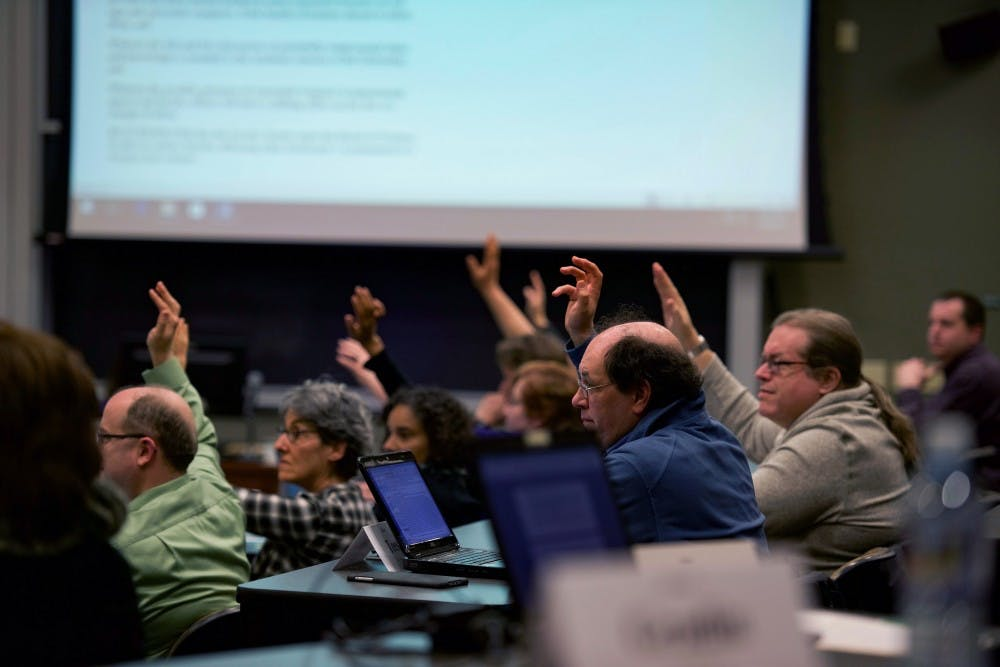 Faculty Senate will hear from OU's Board of Trustees and two committees at its November meeting