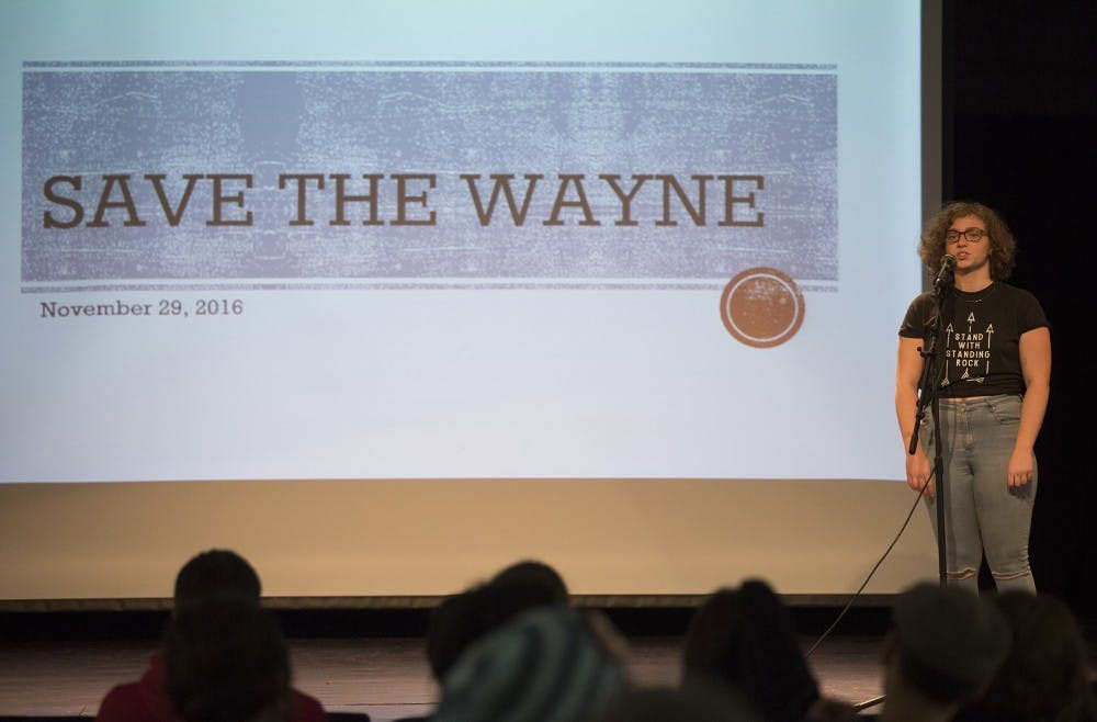 Students and residents organize to stop fracking at Wayne in emergency meeting