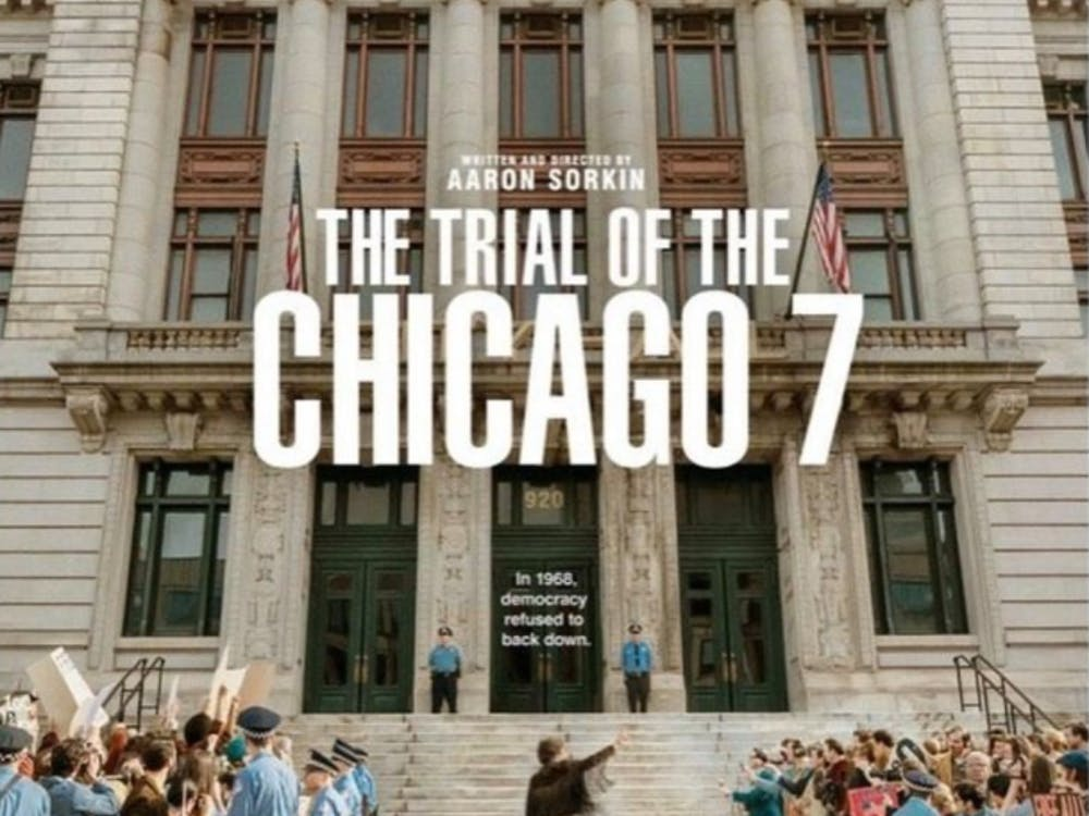 Netflix released 'The Trial of the Chicago 7' on Sept. 25, 2020. (Photo provided via @trialofchicago7 on Instagram)