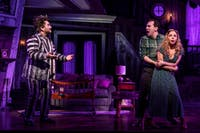 'Beetlejuice' the musical is a must-see Broadway show. (Photo via @BeetlejuiceBway on Twitter)