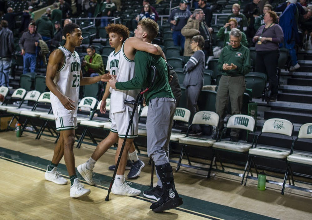 Men's Basketball: James Gollon expected to miss rest of season